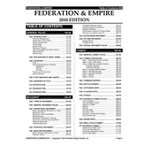 Federation & Empire 2010 Rulebook