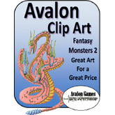 Avalon Clip Art, Monsters 2