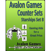 Avalon Counters, Starships Set #8