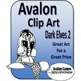 Avalon Clip Art, Dark Elves 2