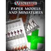 Venture: Of Heroes and Monsters - Paper Models and Miniatures