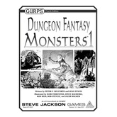 GURPS Dungeon Fantasy Monsters 1
