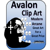 Avalon Clip Art Sets, Modern Arcane 1