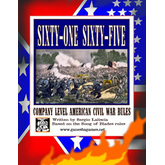 '61 '65 ACW Miniatures Game: One Nation, Two Flags