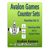 Avalon Counter Sets, Starships #11