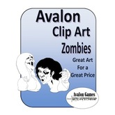 Avalon Clip Art, Zombies