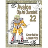 Avalon Clip Art Characters, Alien 3
