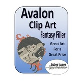 Avalon Clip Art Sets, Fantasy Filler