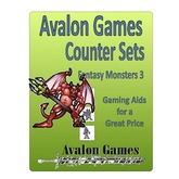 Avalon Counter Sets, Monsters 3