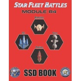 Star Fleet Battles: Module R4 SSD Book (B&W)