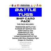 Federation Commander: Battle Tug Ship Card Pack