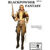 Paper Miniatures: Blackpowder Fantasy Set