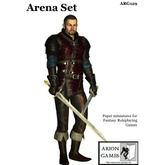 Paper Miniatures: Arena Set