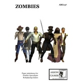 Paper Miniatures: Zombies Set