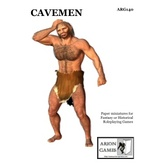 Paper Miniatures: Cavemen Set