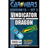 Car Wars Division 15 Set 3 - Vindicator vs. Dragon