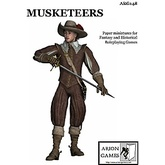 Paper Miniatures: Musketeers Set