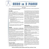 Hero In Two Pages