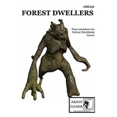 Paper Miniatures: Forest Dwellers Set