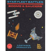 Star Fleet Battles: Module D3 Booms & Saucers (B&W)