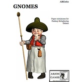 Paper Miniatures: Gnomes Set