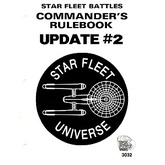 Star Fleet Battles Commander's Rulebook Update #2