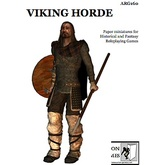Paper Miniatures: Viking Horde Set
