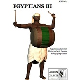 Paper Miniatures: Egyptians III Set