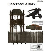 Paper Miniatures: Fantasy Army Set