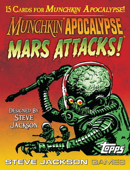 Steve Jackson Games: Munchkin Apocalypse Mars Attacks Booster