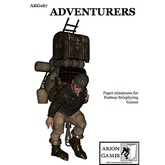 Paper Miniatures: Adventurers Set