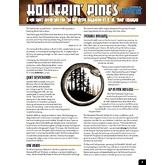 One Sheet - Hollerin' Pines (Fate Core)