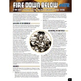 One Sheet - Fire Down Below (Fate Core)