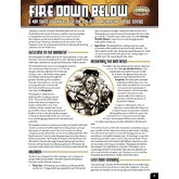 One Sheet - Fire Down Below (Savage Worlds)