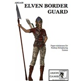 Paper Miniatures: Elven Border Guard Set