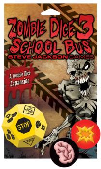 Steve Jackson Games: Zombie Dice 3: School Bus
