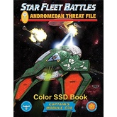 Star Fleet Battles: Module C3A – The Andromedan Threat File SSD Book (Color)