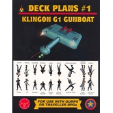 Klingon G1 Gunboat Deck Plans