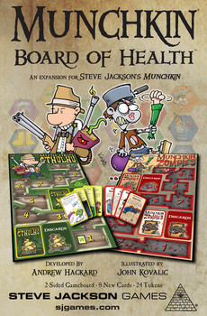 Steve Jackson Games: Munchkin Board of Health