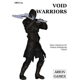 Paper Miniatures: Void Warriors Set