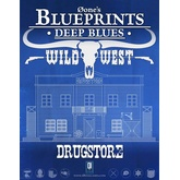 0one's Blueprints: Deep Blues - Wild West: Drugstore