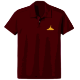 Maroon Ogre Polo Shirt