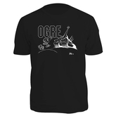 Black Kovalic Cartoon Ogre T-Shirt