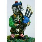 Off the Wall Armies: Highlander Badger Bagpiper