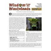 Wisdom from the Wastelands Issue #44: Unique Superscience Artifacts III
