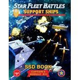 Star Fleet Battles: Module R11 - Support Ships SSD Book (B&W)