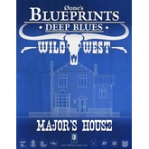 0one's Blueprints: Deep Blues - Wild West: Major's House