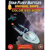 Star Fleet Battles: Module R12 - Unusual Ships SSD Book (Color)