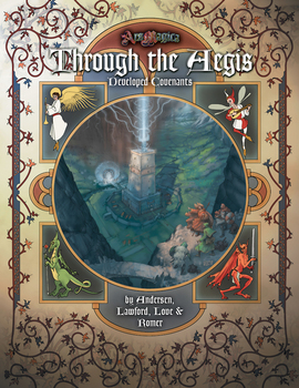 Ars Magica RPG: Through the Aegis: Ars Magica RPG