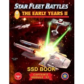 Star Fleet Battles: Module Y2 - The Early Years II SSD Book (B&W)